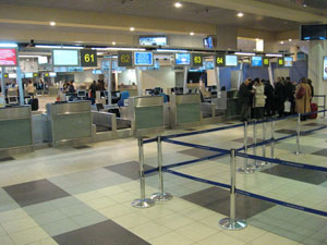 The Domodedovo airport