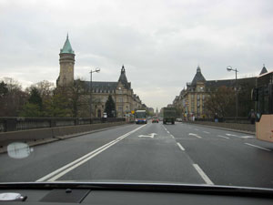 The city of Luxembourg