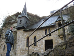 Chapel St. Kvirina. The most ancient cult construction in Luxembourg (11 centuries)