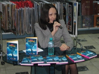 Meeting with Diana Mashkovoj in MDK New Arbat